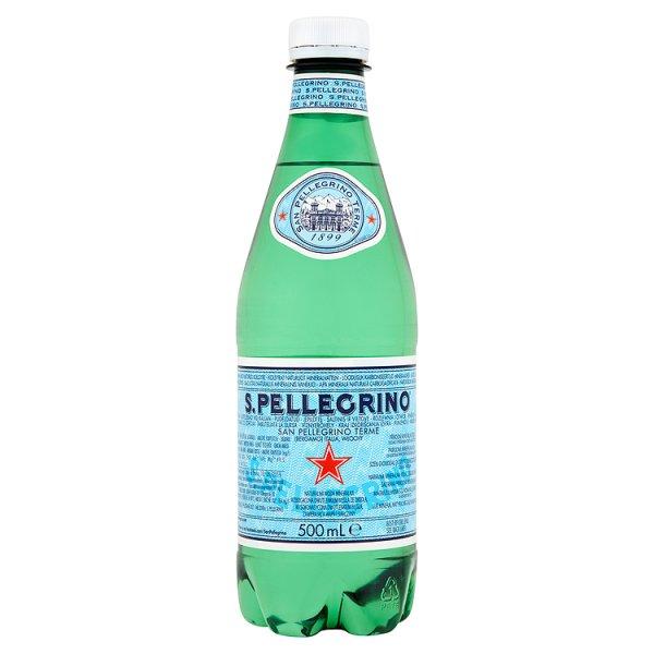S.Pellegrino Naturalna woda mineralna gazowana 500 ml