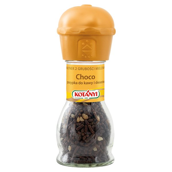 Czekolada Kotanyi młynek posypka do kawy i deserów
