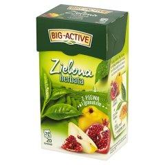 Herbata Big-Active zielona z owocem pigwy
