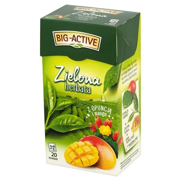 Herbata Big-Active zielona z owocem opuncji