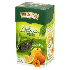 Herbata Big-Active zielona z pomarańczą