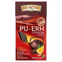Herbata Big-Active pu-erh cytrynowa