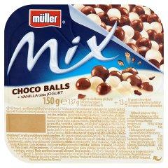 Jogurt Muller Mix wanilia z czekoladowymi kuleczkami