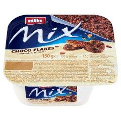 Jogurt Muller Mix banan z czekoladowymi płatkami