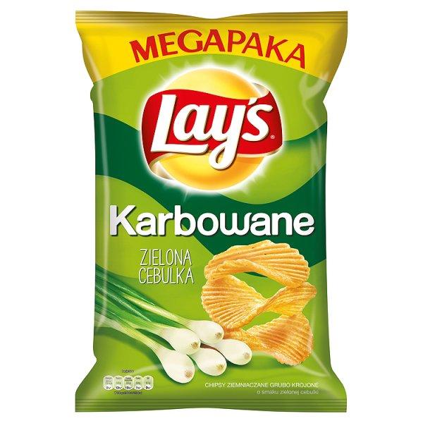 Chipsy Lay's Karbowane Cebula