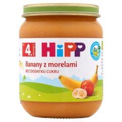 Deser Hipp banany z morelami