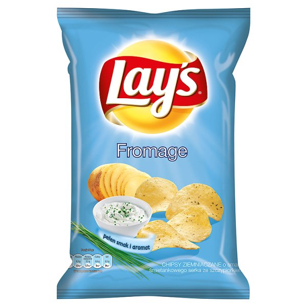 Chipsy Lay's Fromage