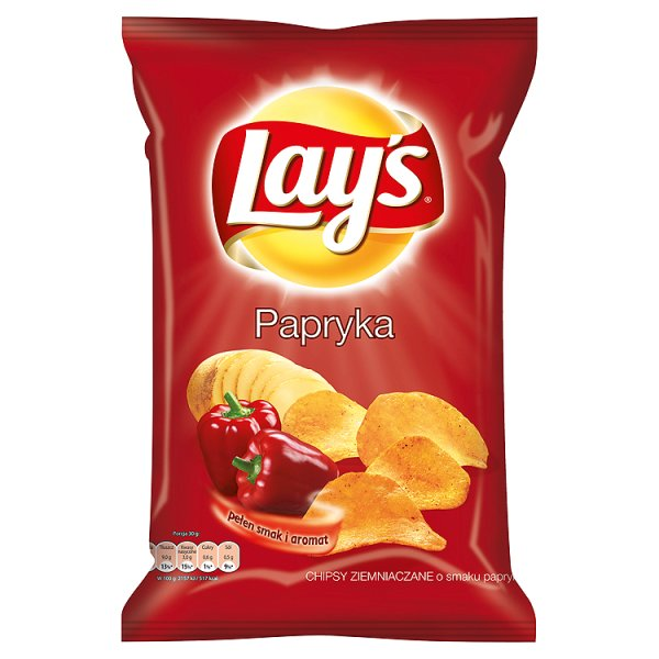 Chipsy Lay's Paprykowe