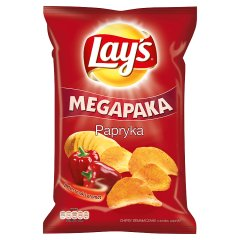 Chipsy Lay's papryka