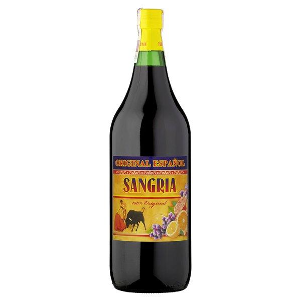 Sangria Original Español Aromatyzowany napój na bazie wina słodki 1,5 l