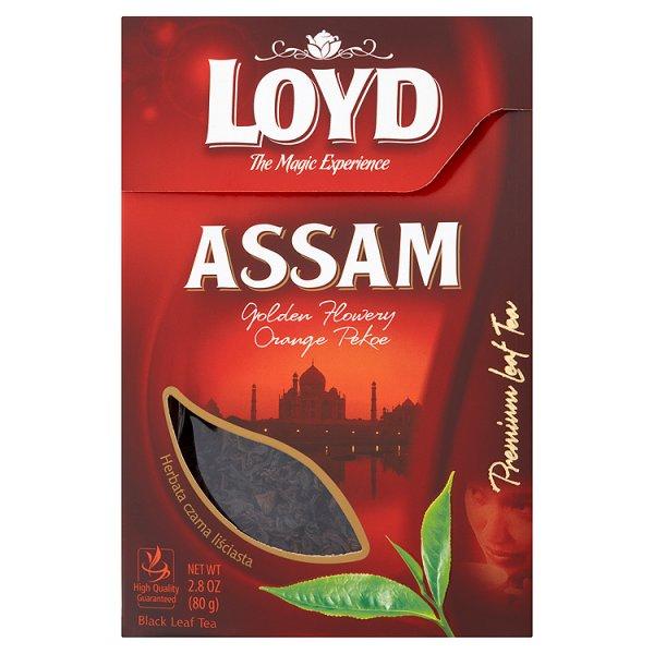 Loyd Assam Herbata czarna liściasta 80 g