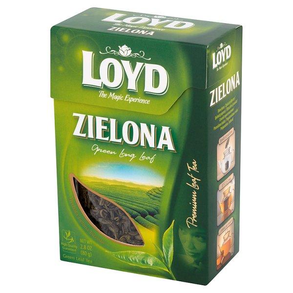 Loyd Herbata zielona liściasta 80 g