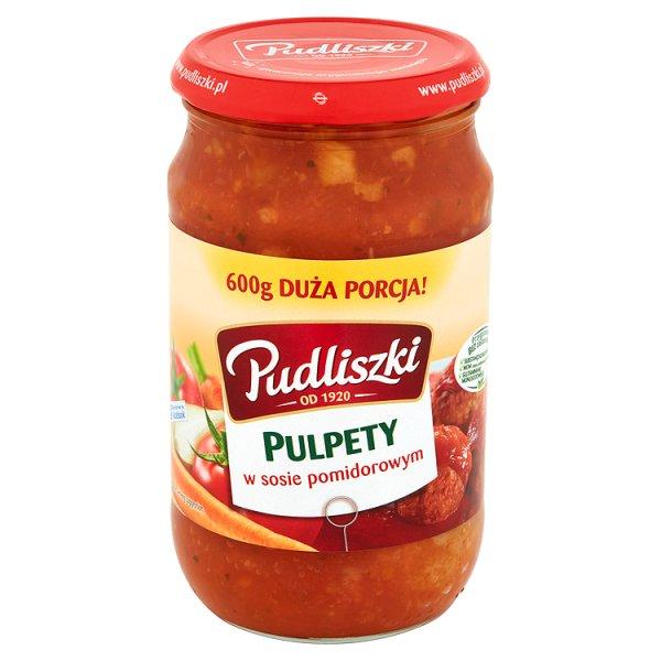 Danie Pudliszki pulpety w Sosie pomidorowym