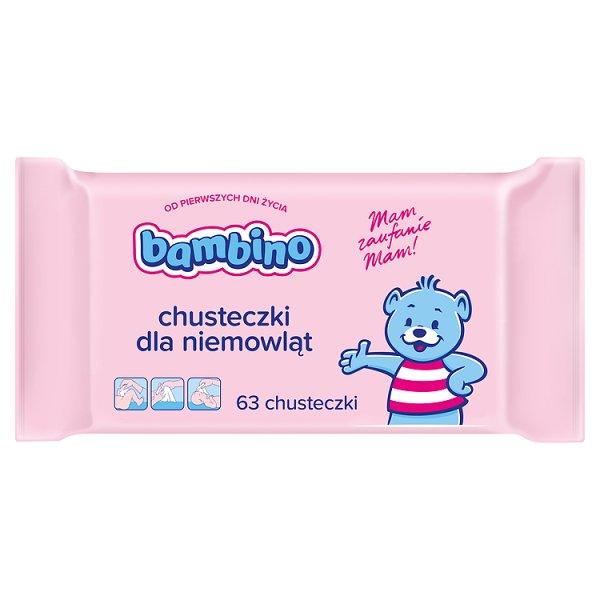 Chusteczki dla niemowląt bambino