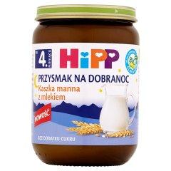 Kaszka Hipp manna z mlekiem-waniliowa bio