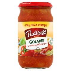 Danie Pudliszki gołąbki w Sosie pomidorowym