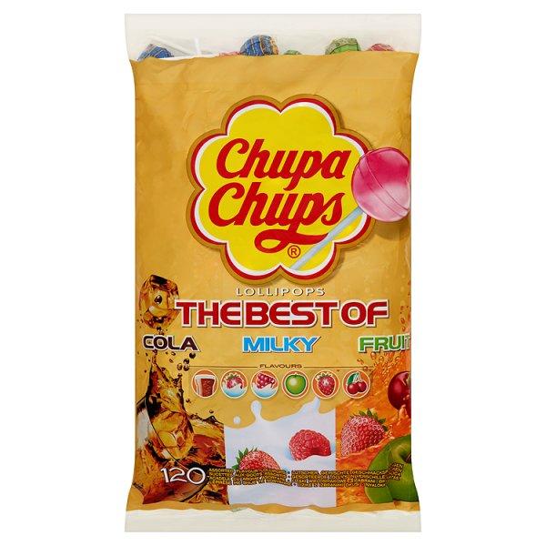 Chupa Chups Lizaki wielosmakowe 1440 g (120 sztuk)