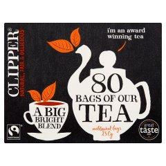 Herbata Clipper Czarna Natural Fair&Delicious 80*3,125g