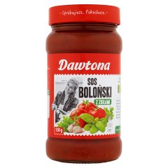 Sos Dawtona bolognese z ziołami