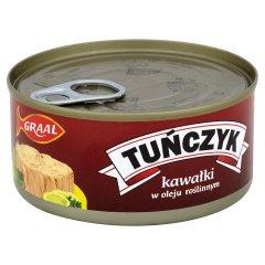 Tuńczyk kawałki w oleju roślinnym Graal