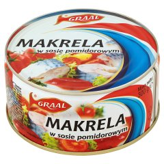 Makrela w sosie pomidorowym Graal
