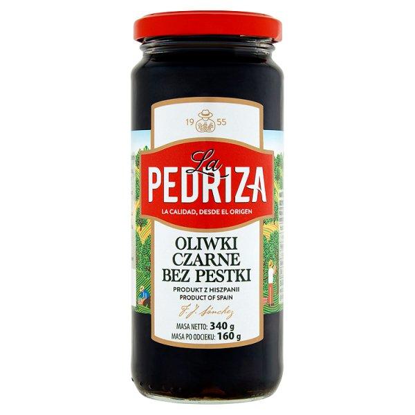 La Pedriza Oliwki czarne bez pestki 340 g
