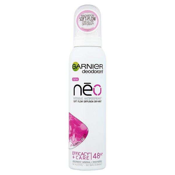 Spray garnier deo neo floral touch antyperspirant