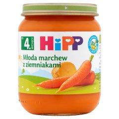 Obiadek Hipp młoda marchew z ziemnaczkami