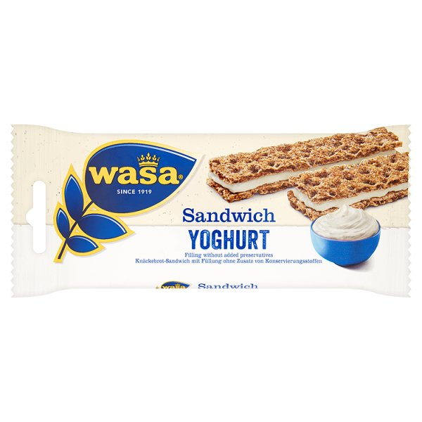 Wasa Kanapka z jogurtem 33 g (2 sztuki)