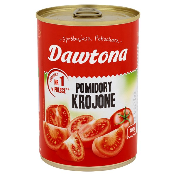Pomidory Dawtona krojone