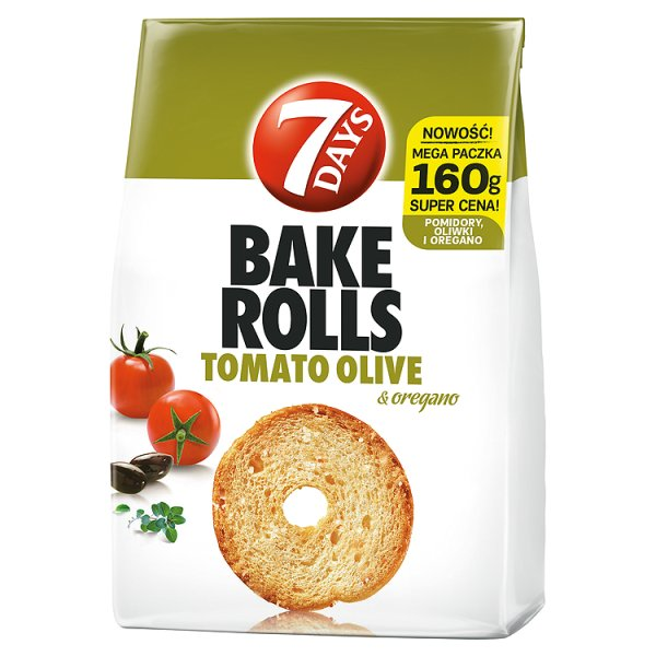 Bake Rolls Tomato Olive