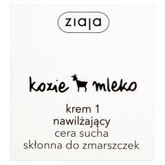 Krem Ziaja - kozie mleko nawilżanie