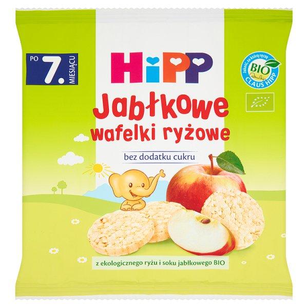 Wafelki ryżowe hipp bio jabłkowe