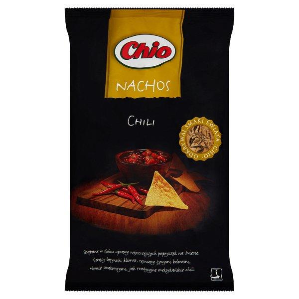 Chipsy Chio Nachos chili con carne