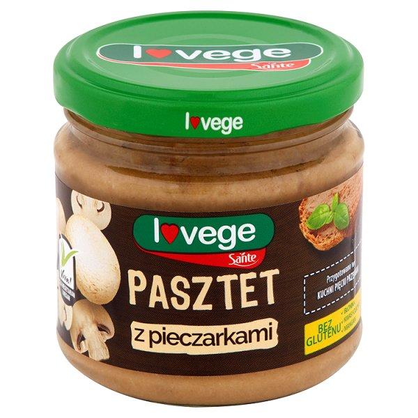 Lovege pasztet wegetariański z pieczarkami
