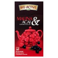 Herbata Big-Active czarna z maliną i acai