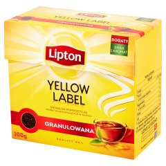 Herbata Lipton granulowana sypka