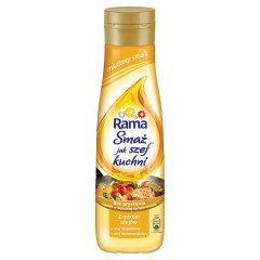 Rama Smaż jak szef kuchni maślany smak Z mixem olejów 500 ml