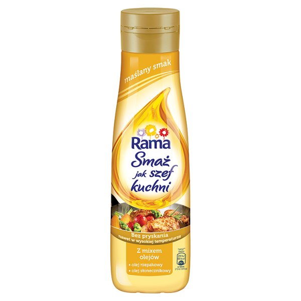 """Rama""""Smaż jak Szef Kuchni"""" maślany smak"""