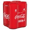 Coca-Cola puszka  4x0,33l