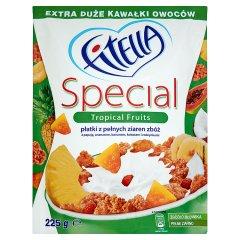 Płatki Fitella Special owoce tropikalne