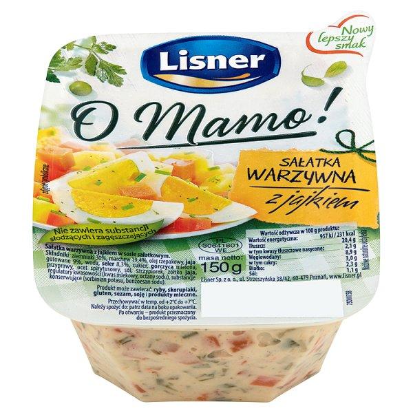 Sałatka Jak u Mamy warzywna z jajkiem