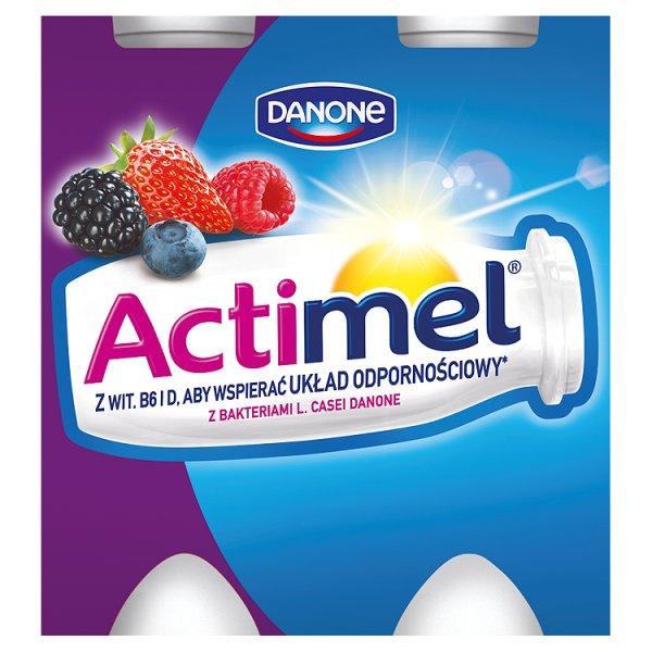 Mleko Actimel Owoce Leśne 4*100g