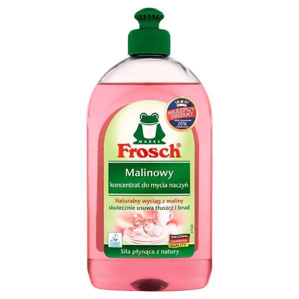 Koncentrat do mycia naczyń Frosch malinowy