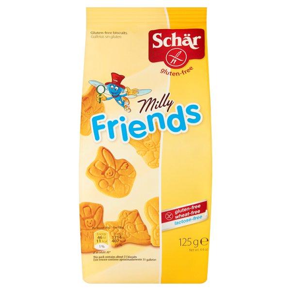 Herbatniki Milly Friends bezglutenowe Schär