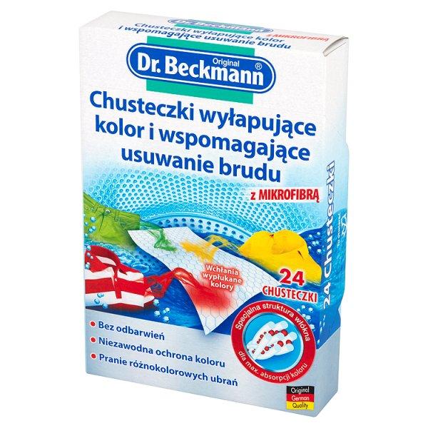 Chusteczki Dr.beckmann wyłapujące kolor