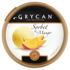 Lody Grycan sorbet z mango