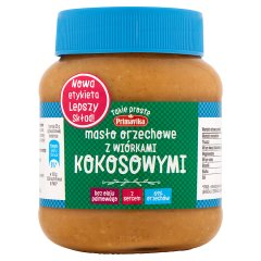 Masło Primavika orzechowo - kokosowe