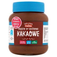 Masło Primavika orzechowo - czekoladowe