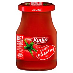 Ketchup Kotlin pikantny słoik